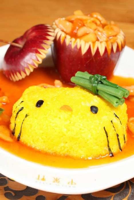 Cartoon Cat Eateries