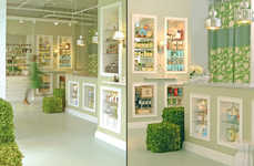 Earthy Beauty Bars - This Beauty Bar Design Exudes an Organic Sense of Calm