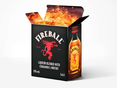 Flaming Whiskey Boxes