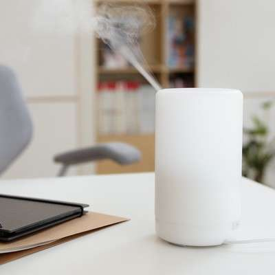 Minimalist Scent Machines - The Muji Ultrasonic Aroma Diffuser Provides Fragrance and Light