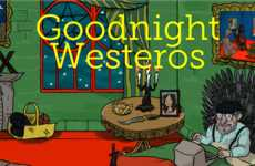 Fantasy Bedtime Stories - This Spin-Off of Goodnight Moon is Game of Thrones-Inspired