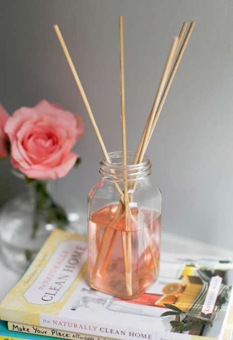 Recycled Reed Diffusers - All Elements of Hello Natural's DIY Diffuser Are Upcycled