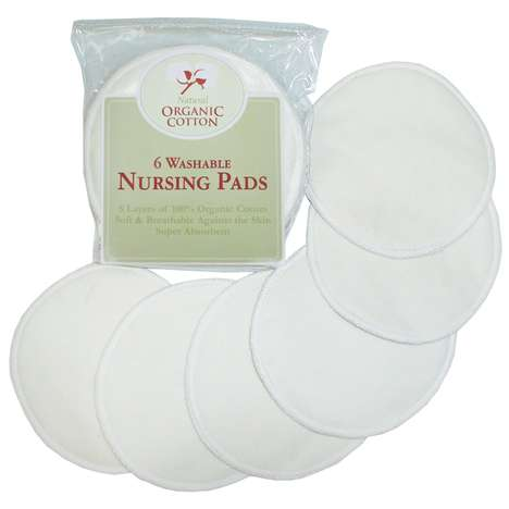 Reusable Breastfeeding Pads - These Washable Nursing Pads from TL Care are Ideal for Minimalist Moms