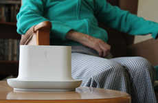 Fragrant Meal Clocks - Ode Emits Food Smells to Remind Dementia Patients It's Time to Eat