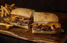 Ribeye Melt Lunches - The New Ribeye Steak Sandwich is Available Midday at Outback Steakhouse
