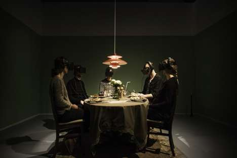 Virtual Dinner Parties - The Doghouse Puts People Around the Table for an Awkward Family Dinner