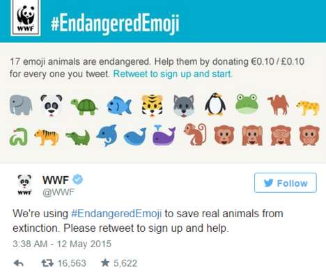 Animal-Saving Emojis