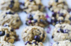 Blueberry Breakfast Cookies - These Oatmeal Baked Goods from How Sweet It Is are Tasty Anytime