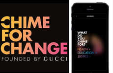 Women-Empowering Fashion Apps - Chime for Change is a Cultural Hub for Philanthropic Gucci Lovers