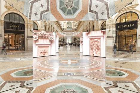 Opulent Fashion Installations