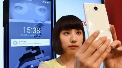 Iris-Scanning Smartphones