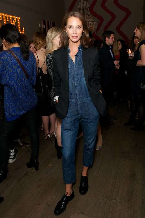 Chic Maternity Jeans - Christy Turlington's Maternity Collection Delivers Figure-Flattering Denim