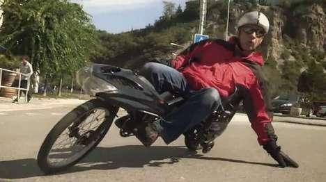 Joystick-Controlled Motorbikes