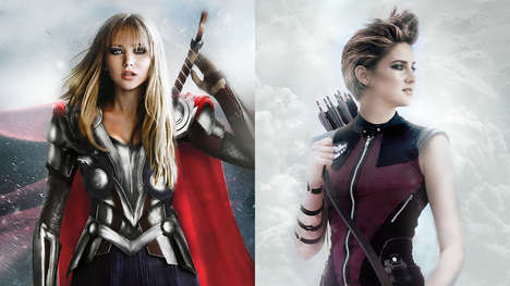 Gender-Bending Superheroes - A Hungarian Teenager Reimagines the Avengers to Address Sexism