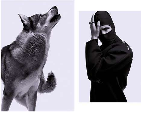 Animalistic Streetwear Photography
