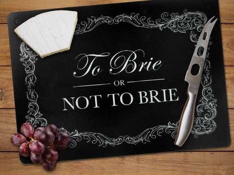 Shakespearean Cheese Boards