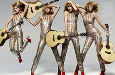 Glam Rock Songstress Editorials