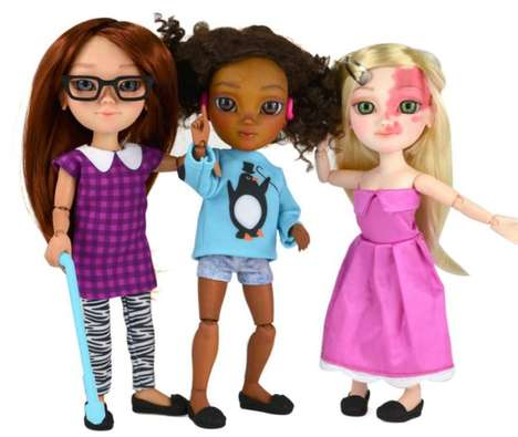 Inclusive Disability Dolls - The Toy Like Me Campaign Spurs The Makies to Create More Diverse Dolls