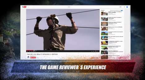 Live Action Video Games - Ubisoft Sought Out Influential YouTubers to Experience the Far Cry 4 Game