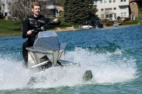 Tri-Ski Watercraft