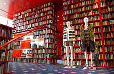 Bookworm Fashion Shops - Sonia Rykiel's Tokyo Fashion Pop-Up Puts Garments and Books on Display