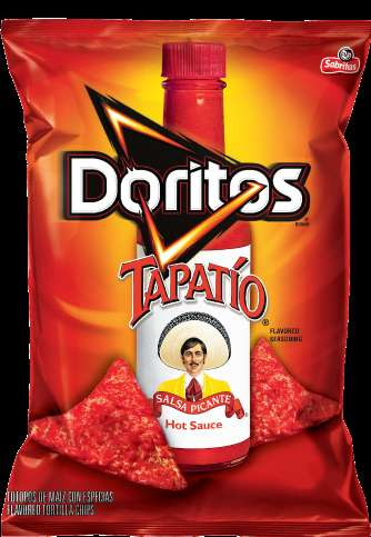 Cobranded Hot Sauce Chips