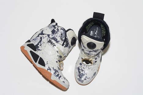Serpent Skin Sneakers