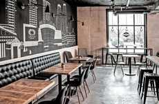 Rustic Juice Establishments - The Cold Pressery in Mississauga is a Stylish Healthy Lifestyle Bar