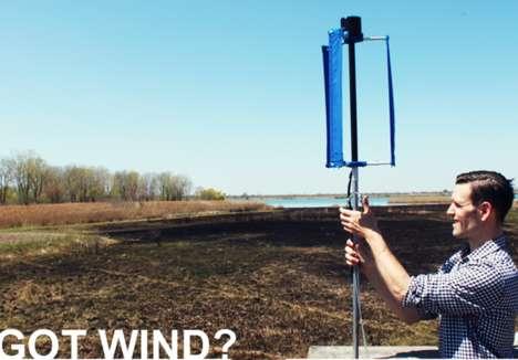 Silent Bladeless Wind Turbines : Vortex Bladeless