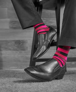 Awareness-Raising Socks