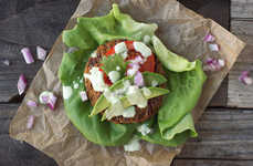 Lettuce Wrap Burgers - This Grain-Free BBQ Alternative Includes a Broccoli and Sweet Potato Burger
