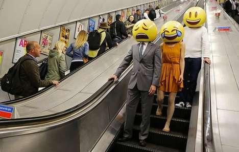 Emoji Bobblehead Stunts