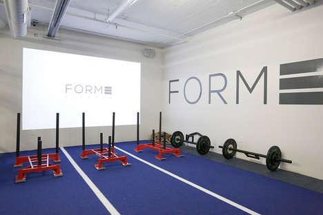 Sled-Centered Gyms