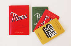 Transnational Menu Guides - These Handy Restaurant Phrase Books Help You Order Food While Abroad
