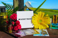 Bespoke Fragrance Deliveries - Scent Trunk's Women's Box Boasts Customized Perfume Products
