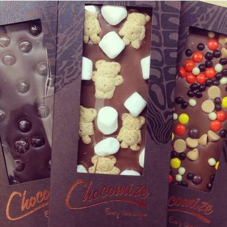 Personalized Chocolate Bars - Chocomize Lets Individuals Create Their Ultimate Candy Bar