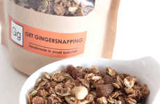 Spicy Granola Snacks - The New 'Get Gingersnapping' Line is a Sweet and Savory Treat