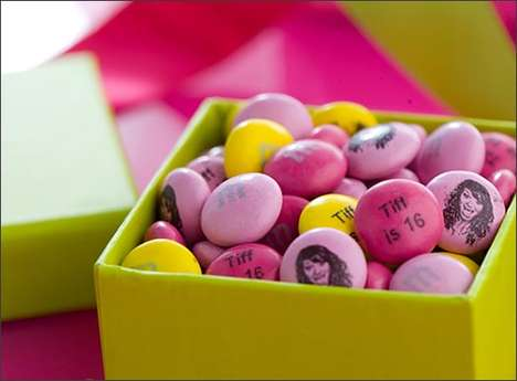 Customized Candy Confections - The My M&Ms; Service Offers Personalized Treats for Any Occasion