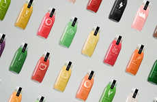 Whimsical Juice Packaging