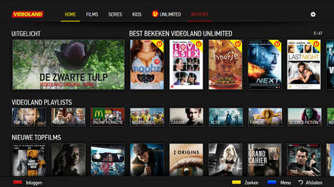 Portable Television Apps - 24i Media's OTT App for Videoland Promises 'TV Everywhere'