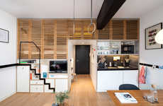 Cleverly Compact Lofts - The Zoku Hotel is Rife with Creative Hidden Features for Small Spaces