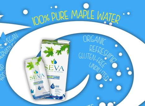 Organic Maple Water Beverages - SEVA Maple Water is Vegan, Gluten-Free and Naturally Sweetened