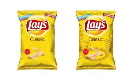 Sun-Activated Snack Bags - Lay's Chip Bags Reveal a Hidden Design in Ultraviolet Ink