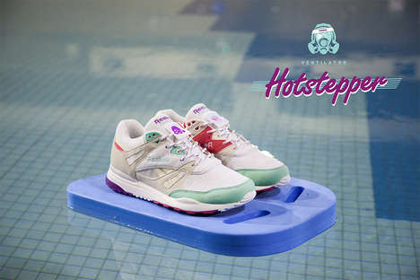 Retro Celebratory Sneakers - Footpatrol x Reebok Celebrate 25 Years Together with the 'Hotstepper'