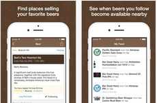 Beer-Locating Apps - The BeerMenus App Alerts Users When Their Favorite Beer is on Tap Nearby