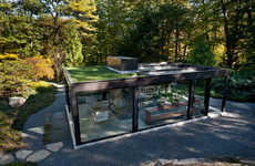 Personal Tea Houses - 'Glass House In The Garden' is a Relaxing Sanctuary and Greenhouse