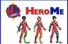 Custom Superheroine Toys - HeroMe Helps Kids Build Their Own Super Female Action Figures