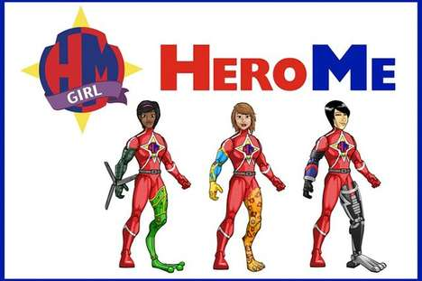 Custom Superheroine Toys