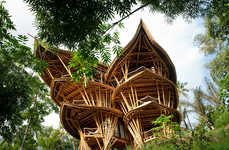 Sustainable Bamboo Homes - Elora Hardy's Eco-Friendly Bamboo Homes are Breathtakingly Beautiful