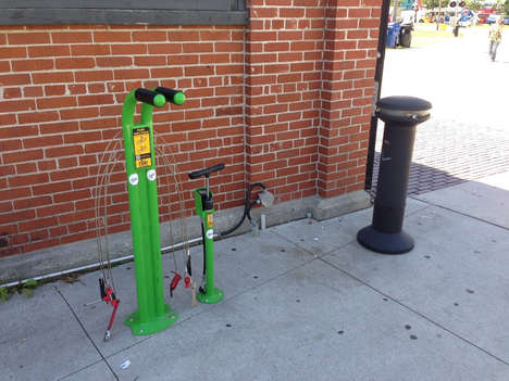 Bicycle Repair Stations - Steamwhistle Supplies Tools for Bike Maintenance at Urban Landmarks
